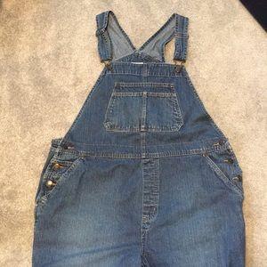 Vintage 100% cotton bib overalls size XL